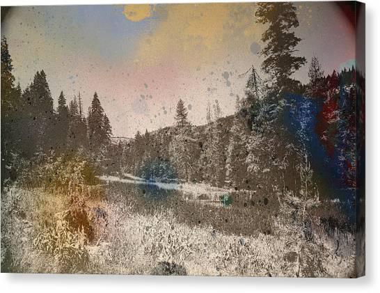 Sprayscape Canvas Print by Stephen Sly