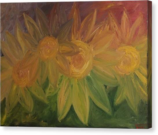 Spring Bloom Canvas Print by Shadrach Ensor