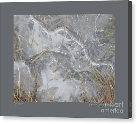 Spring Ice-i Canvas Print