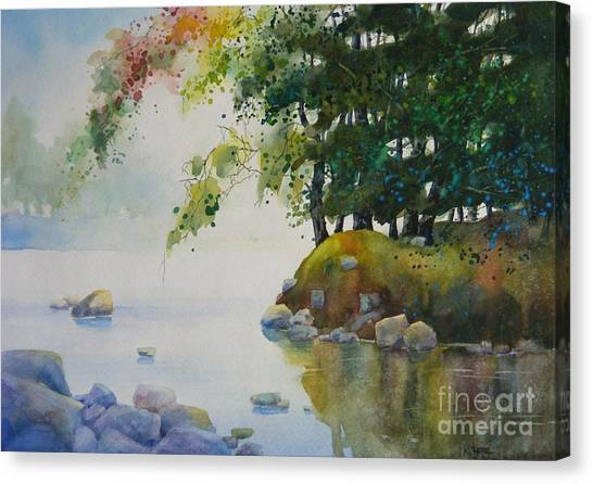 Spring In Quiet Canvas Print