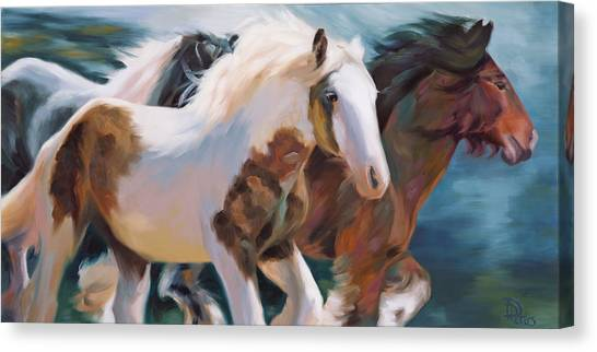 Image result for horses running in  afield art