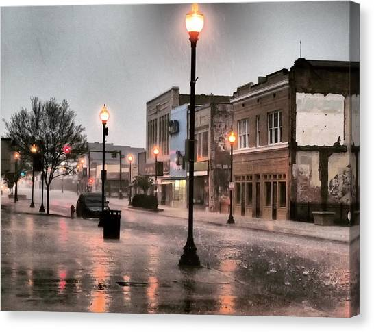 Gaston County Canvas Print - Spring  by Tammy Cantrell