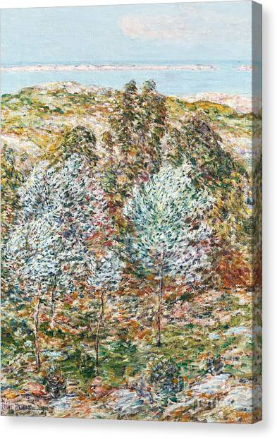 1900 Canvas Print - Springtime Vision by Childe Hassam