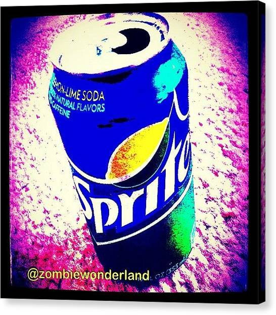 Sprite Canvas Print - #sprite #soda by Akim  Lai-Fang