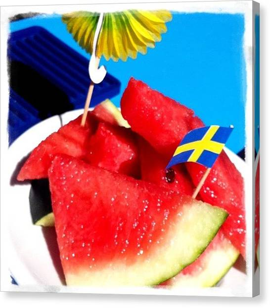 Watermelons Canvas Print - Spuntino by Ale Romiti 🇮🇹📷👣