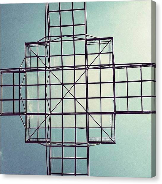 Metal Canvas Print - Square Sky by Mari To