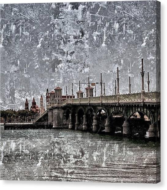 Roads Canvas Print - St. Augustine - Spanish Florida by Joel Lopez