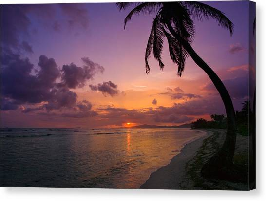 St. Croix Sunrise Canvas Print