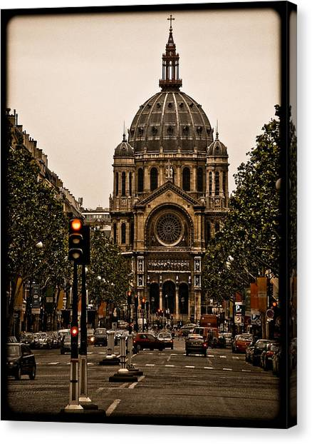 Paris, France - St. Etienne Canvas Print