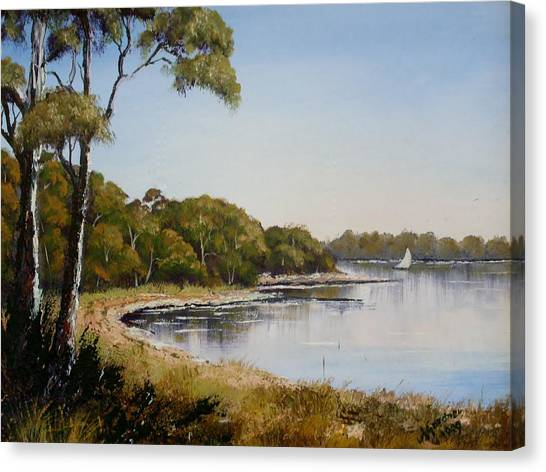 St Georges Basin - Early Morning Canvas Print