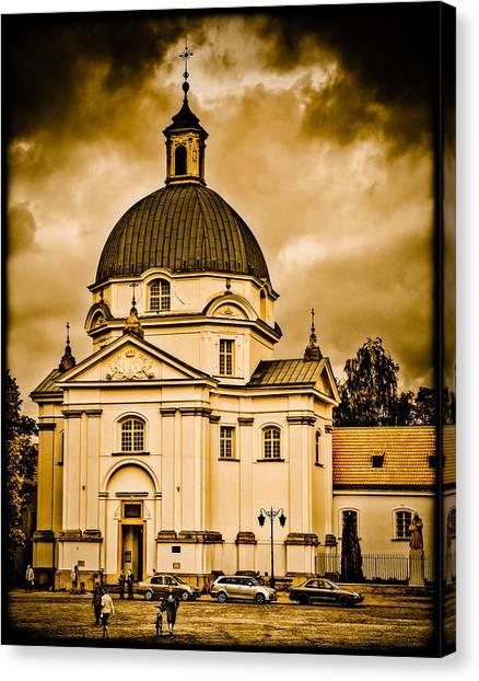 Warsaw, Poland - St. Kazimierz Canvas Print