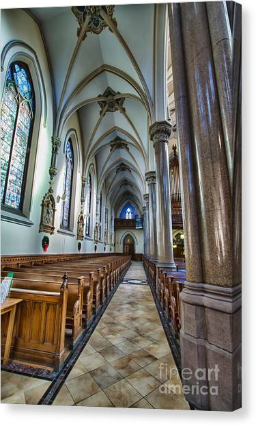 St Louis Church 10 Canvas Print by Chuck Alaimo