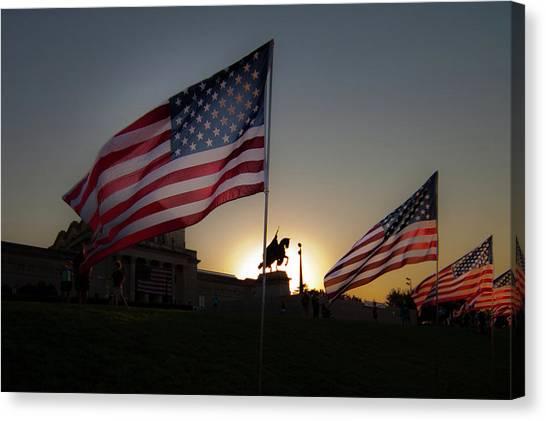 St Louis Remembers 9 11 Canvas Print