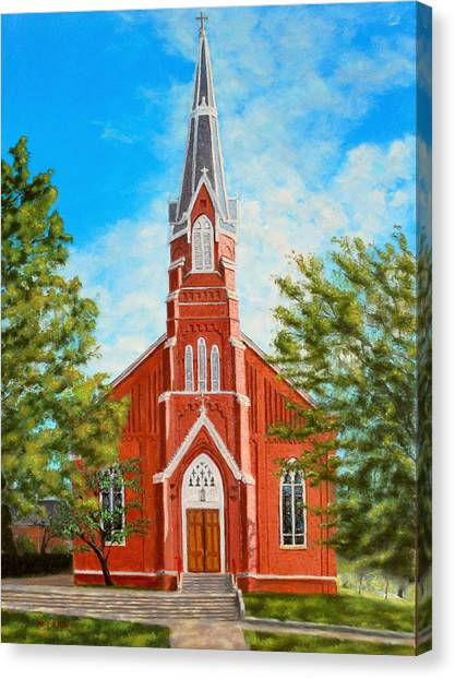 St. Mary's Church Canvas Print