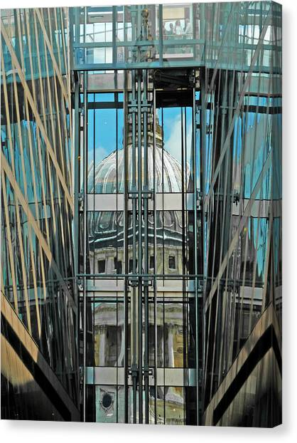 St Pauls Compressed Canvas Print