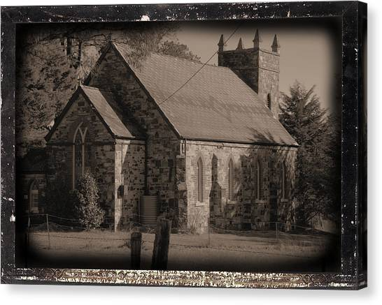 St Stephens Anglican Church Canvas Print