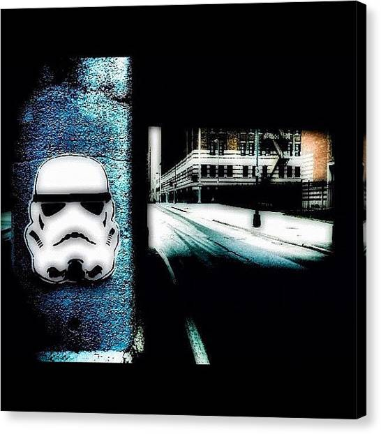 Stormtrooper Canvas Print - St #stormtrooper #starwars #swag by Anthony  Bates
