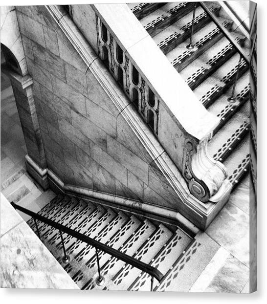 Libraries Canvas Print - Staircase At The New York Public by Arnab Mukherjee