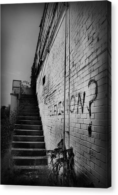 Canvas Print featuring the photograph Staircase I by Kelly Hazel