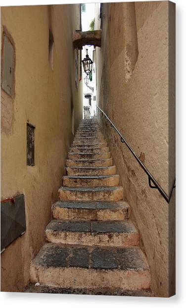 Stairs Italian Canvas Print by Ryszard Unton