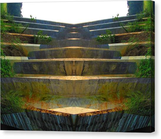 Stairs Canvas Print by Michele Caporaso