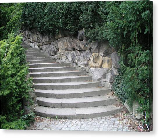 Stairs To Happiness Canvas Print
