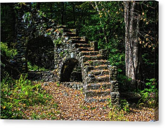Stairs To Nowhere Canvas Print by Tanya Chesnell