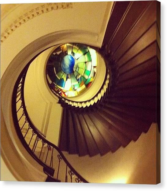 Fibonacci Canvas Print - Stairway by Marce HH
