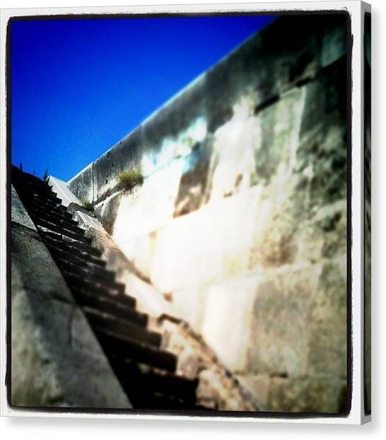 Hell Canvas Print - Stairway To Heaven by Marianna Tamas