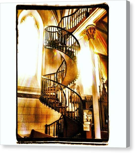 Heaven Canvas Print - Stairway To Heaven by Paul Cutright