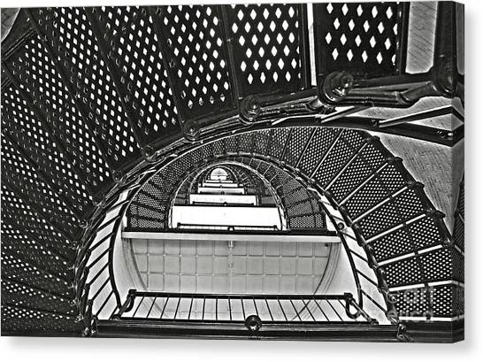Stairway To Light Canvas Print