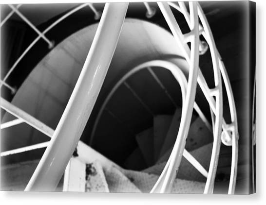 Stairway To Nowhere Canvas Print by Kevin Lilly