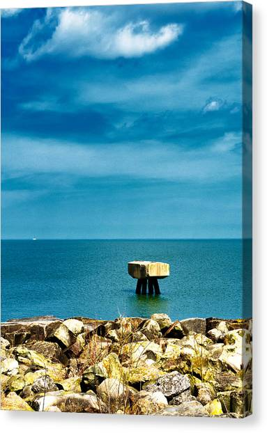 Standing Alone Canvas Print