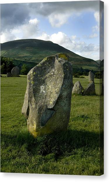Canvas Print - Standing Stone 2 by Peter Jenkins