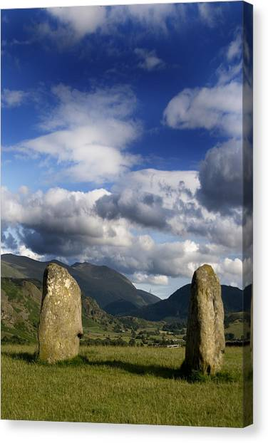 Canvas Print - Standing Stones by Peter Jenkins