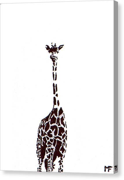 Standing Tall Canvas Print by Matthew Formeller