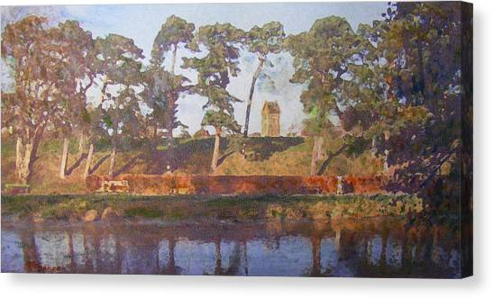 Standrewstower From Haylodge Park Canvas Print