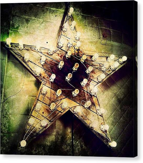 Stars Canvas Print - Star Light by Natasha Marco