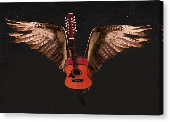 Taylor Swift Canvas Print - Star Struck  by Eric Kempson
