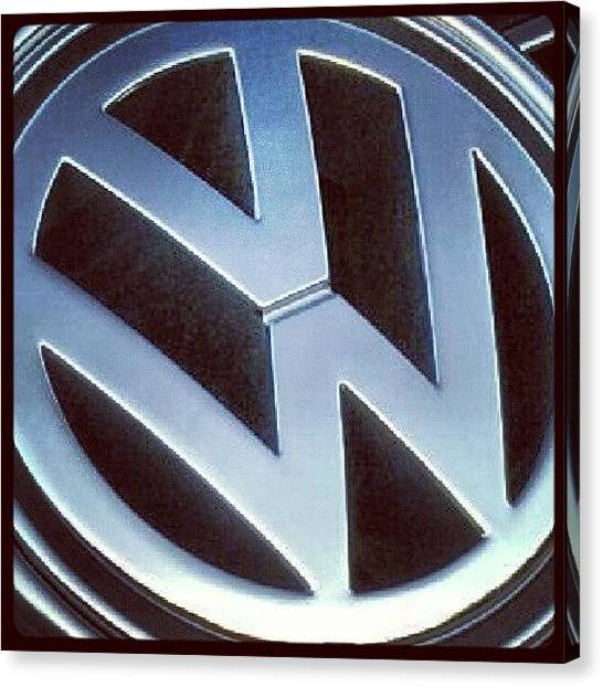 Volkswagen Canvas Print - Starting To #look For Another by . .