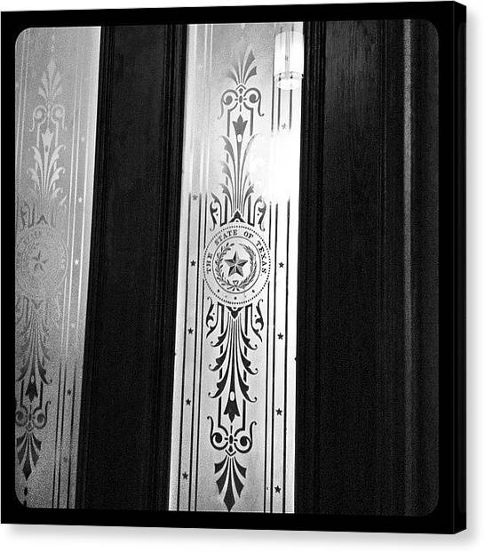 Austin Canvas Print - Stately Door by Natasha Marco