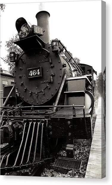 Steam Engine 464 Canvas Print by Scott Hovind