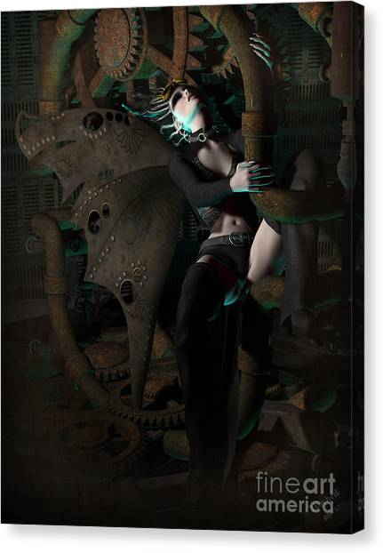 Steam Punk Fairy Canvas Print