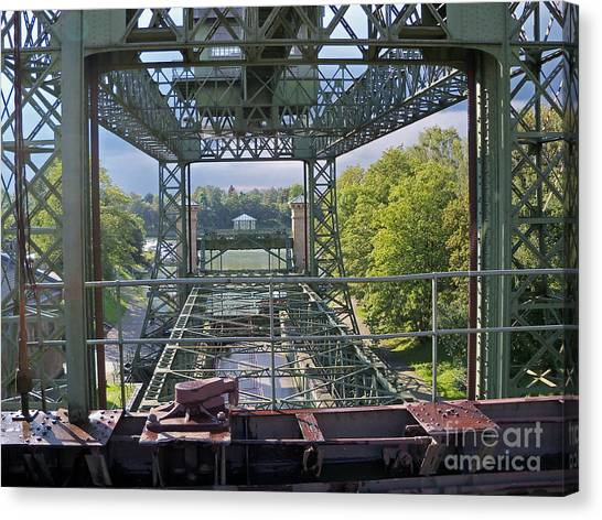 Steel Construction 2 Canvas Print