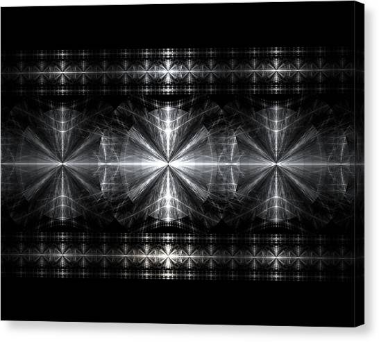 Steel Crosses  Canvas Print by Kim French