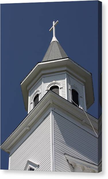 Steeple Top Canvas Print