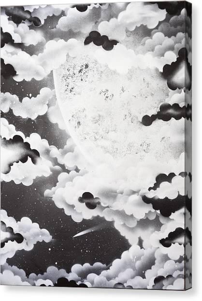 Stellar Moon Canvas Print by Stephen Ford