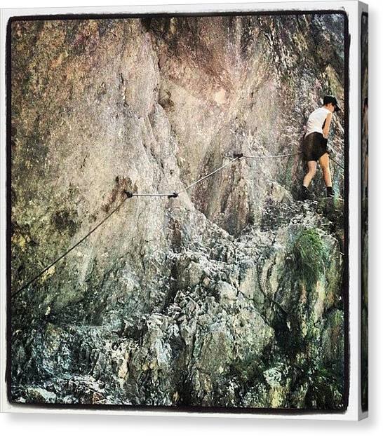 Wilderness Canvas Print - Step By Step by Florian Divi