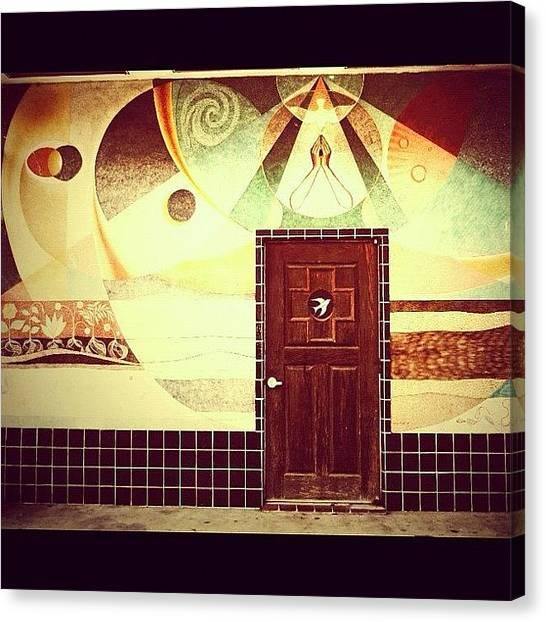 Dove Canvas Print - Step Through The Door by Tasha L