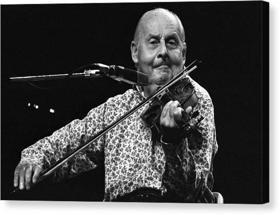 Stephane Grappelli 1 Canvas Print